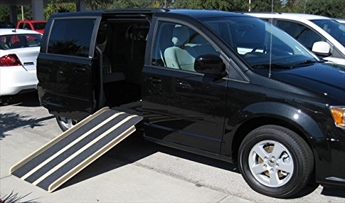 Travel Ramp Mini Van Five Feet Folding Door Opening, 28 Inch, 32 Pound