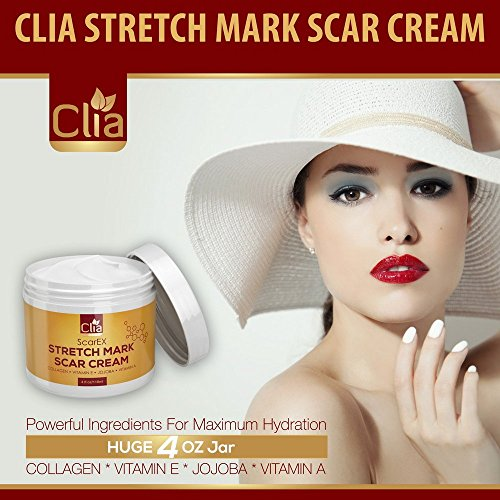 Sperm cream for scars