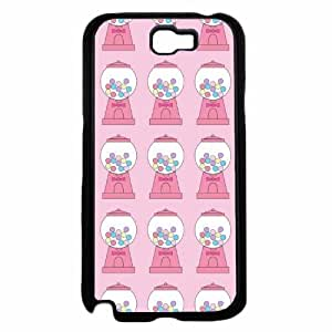 Bubble Gum Machine TPU RUBBER SILICONE Phone Case Back Cover Samsung Galaxy Note II 2 N7100