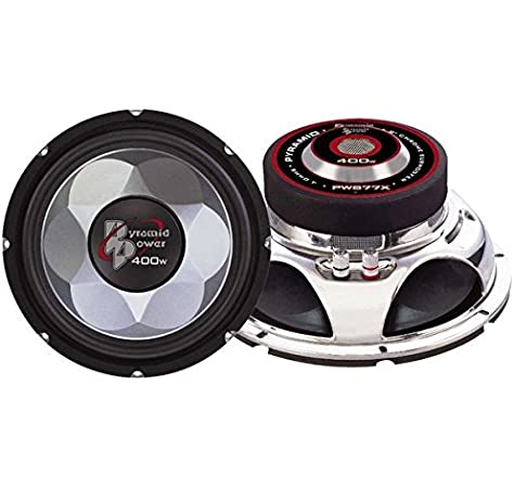 Pyramid PW677X 600W 6 Car Audio Subs//Subwoofers Power Woofers 6.5