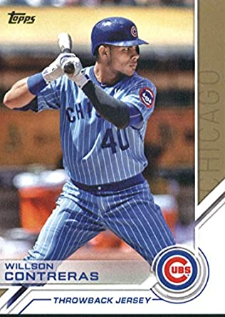 2017 Panini Day Spring Training Road Trip 25 Willson Contreras Chicago Cubs Card Honkbal