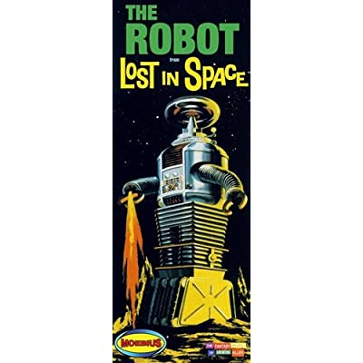 Lost in Space Robot Model Kit - Novelty DIY Build Kit: Toys & Games
