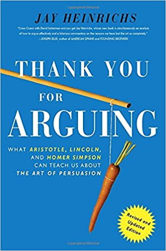 amazon thank you for arguing revised and updated edition what