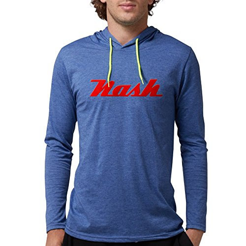 CafePress Nash Automobiles Long Sleeve T-Shirt - Mens Hooded Shirt (Frazer Automobile)