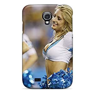 For Galaxy S4 Protector Case Carolina Panthers Cheerleaders Uniforms Phone Cover