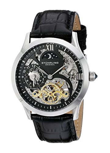 Stuhrling Original Men's 571.33151 Special Reserve 571 Analog Automatic Black Watch