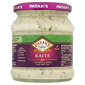 Patak's Raita Mint & Cucumber 270g
