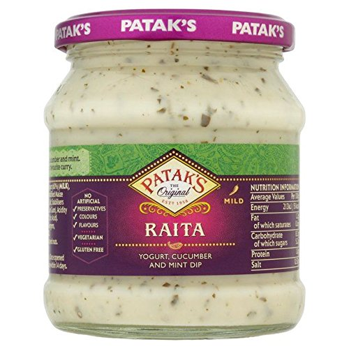 Patak's Raita Mint & Cucumber - 270g