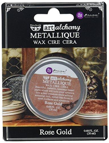 Prima Marketing Art Alchemy-Metallique Wax-Rose Gold