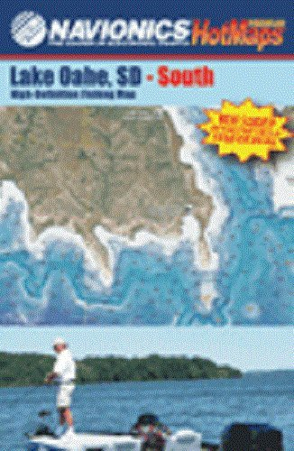 Lake Oahe Fishing Map - Bundle