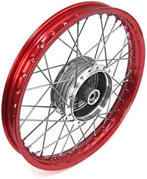 Speichenrad Felge 1 50x16 In Rot Speichen In Edelstahl Und Nabe 16 Alle Moped Typen Auto