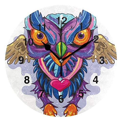 New School Owl Tattoo - Jojogood Anchor New Skool Tattoo Wall