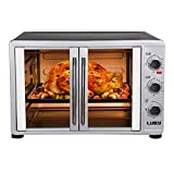 Luby Large Toaster Oven Countertop French Door