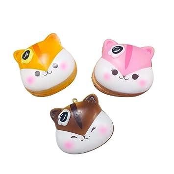 Amazon.com: PopularBoxes Poli Hámster Mini Pancake perfumado ...