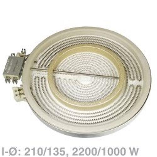 AEG Electrolux 4055067781 EGO 10.51213.432 - Radiador circuito doble para estufa (2200 a