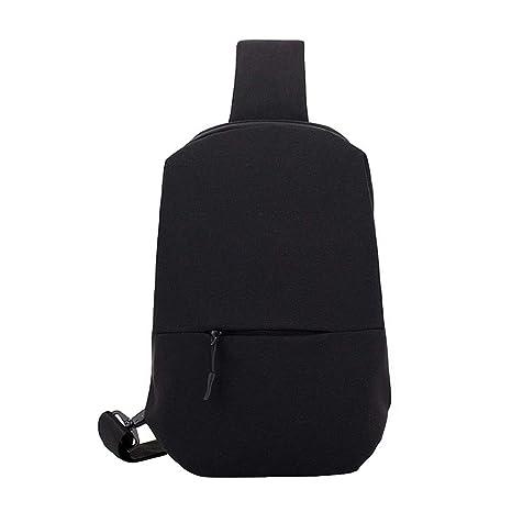 a7b8029caf21 Amazon.com: luofeisi Shoulder Bag Men's Shoulder Diagonal Backpack ...