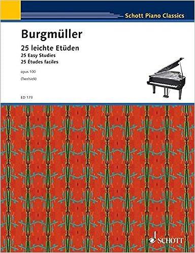 Real book e flat télécharger Etudes (25) Op.100 - Piano. PDF