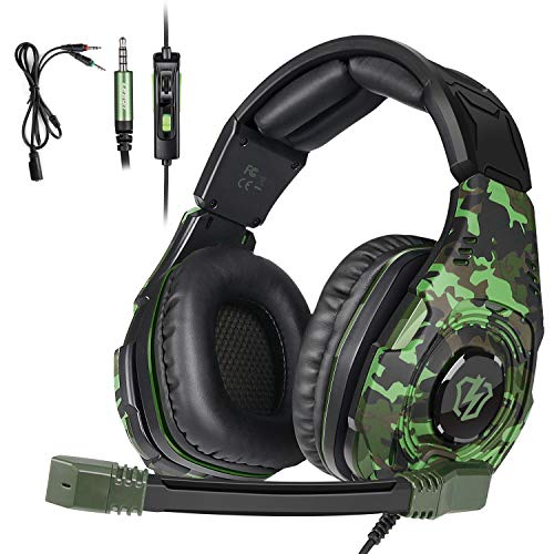 LETTON L2 Gaming Headset True Stereo Sound Headphones for PS4/Xbox/PC/MAC/Smart TV/with Noise Cancelling mic Volume Control