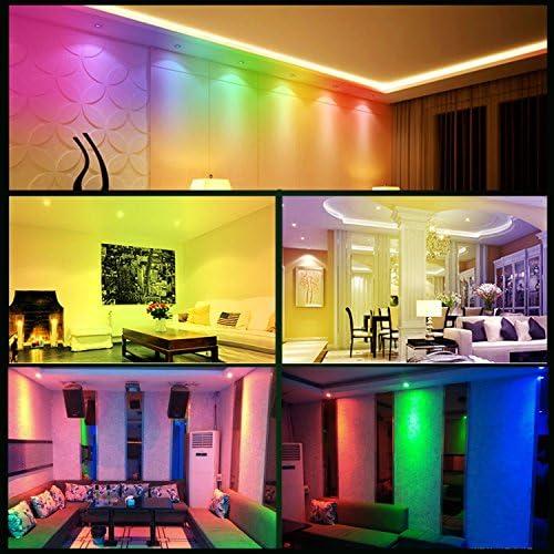 6x Foco Empotrable LED GU10 Luz de Techo 6W Incluye Bombilla GU10 ...