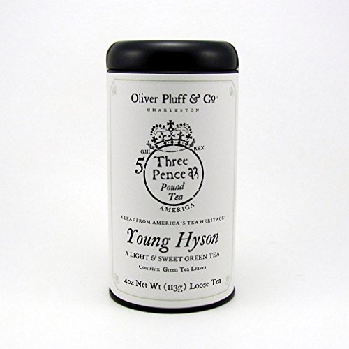 Signature Tea Tin - Young Hyson 4oz Loose Tea ()