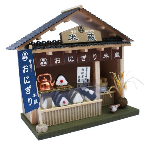 Shop kit Japanese rice ball shop 8773 series of Billy handmade dollhouse kit street corner (japan import)