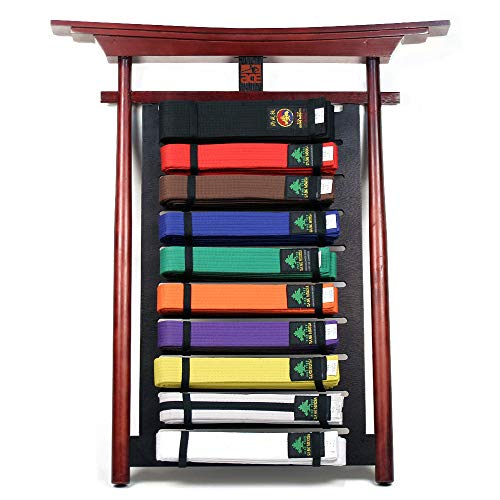 Martial Arts Belt Displays - Ace Martial Arts Supply Wall 10 Levels Mountable Belt Display