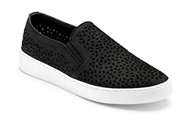 2120d61b7a02 Vionic Women s Splendid Midi Perf Slip-on - Ladies Sneakers with Concealed  Orthotic Arch Support