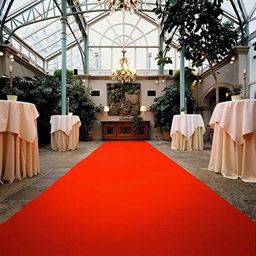 Rot Empfangsteppich VIP Event-Teppich-L/äufer Hochzeitsl/äufer PODIUM Eventteppich 1,50m x 8,00m Hochzeitsteppich Teppichboden f/ür Messe /& Event