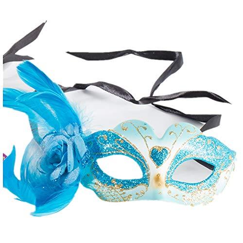 New Halloween Masks,Kid's Masks,Party Princess Feather Masks,Plastic Beauty Christmas Masks -