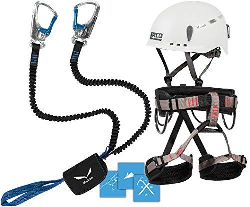 Klettersteigset Salewa : Klettersteigset salewa premium attac lacd gurt start helm