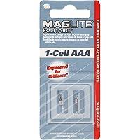Lámparas de repuesto Maglite para linterna solitario AAA de 1 celda, 2 pk