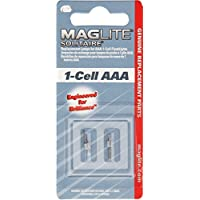 Maglite Replacement Lamps for Solitaire 1-Cell AAA Flashlight, 2 pk