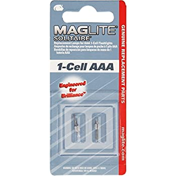 maglite replacement lamps for solitaire 1 cell aaa flashlight, 2 pkmaglite replacement lamps for solitaire 1 cell aaa flashlight, 2 pk
