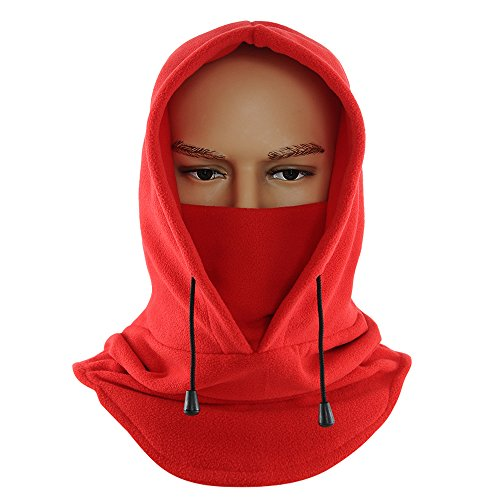 Anomasu Tactical Heavyweight Balaclava Outdoor Sports Mask (Red)