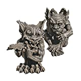 Cheap Design Toscano Babble and Whisper Gargoyle Statue (Set of 2)