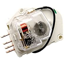 0053736 - FACTORY OEM ORIGINAL WHIRLPOOL KENMORE MAYTAG ROPER KITCHENAID MAGIC CHEF AMANA REFRIGERATOR DEFROST TIMER FOR ALL 8, 10, 12 HOUR APPLICATIONS. GROUNDLESS W/ FLYING LEAD