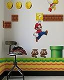 New Super Mario Bros Re-Stik wall decals