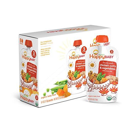 Happy Baby Organic Chicken Vegetables