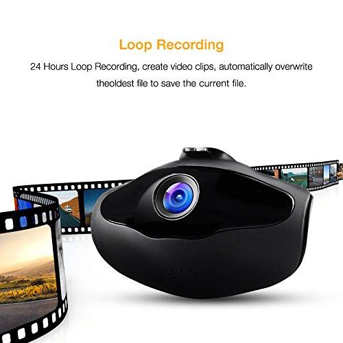 apeman dash cam hd 1080p mini car dash camera 650nm lens. Black Bedroom Furniture Sets. Home Design Ideas