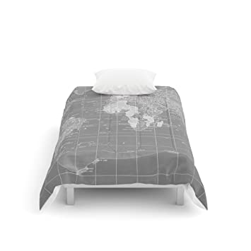 Amazon society6 world map comforters twin xl 68 x 92 society6 world map comforters twin xl 68quot gumiabroncs Image collections