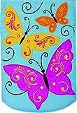 Custom Décor Elegant Butterflies Applique Garden Flag 2759FM For Sale