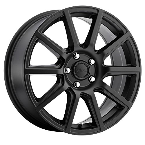- Voxx Mille Matte Black Wheel (167/5100, 40 mm Offset)