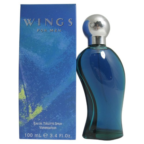 Wings Mens Cologne - Wings By Giorgio Beverly Hills For Men. Eau De Toilette Spray 3.4 Oz.