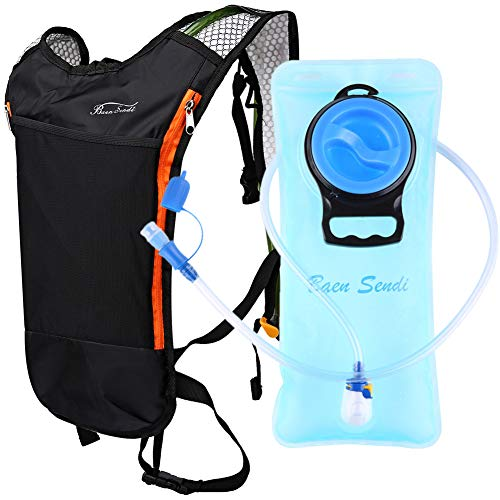 Baen Sendi Hydration Pack with 2L Backpack Water Bladder - Great for Outdoor Sports of Running Hiking Camping Cycling Skiing