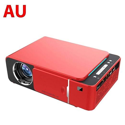 Hifuture - Mini proyector portátil T6 3500 lúmenes Mini portátil ...