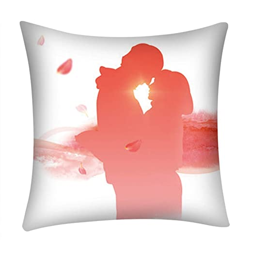 45 cm x 45 cm funda de cojín San Valentín funda de almohada ...