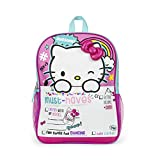 "Hello Kitty Weekend Must Haves! 16"" inch School Bag Backpack"