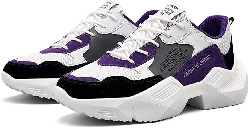 HY Zapatos de Hombre, Estudiantes Slip-ons Zapatillas de Running, Trekking Zapatos de Viaje Casual Zapatillas,c,41: Amazon.es: Hogar