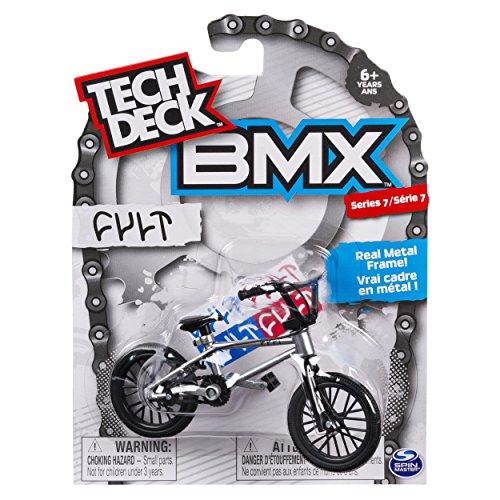 Tech Deck BMX Series 7 Silver & Black CULT BMX Finger Bike