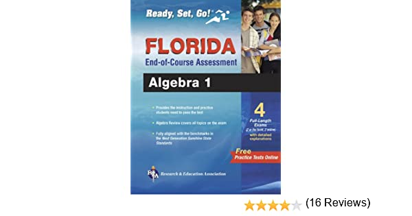 Florida algebra i end of course assessment florida fcat end of florida algebra i end of course assessment florida fcat end of course test prep elizabeth morrison edd jodie carleton bs 9780738610221 fandeluxe Choice Image